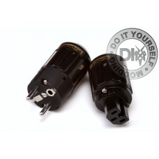 220v CONNECTORS set BLACK