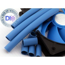 Fan Heatshrink tube 10 mm dia - blue