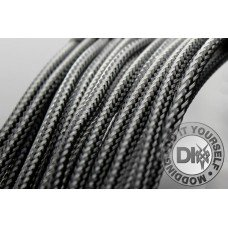 Sleeve 6mm BLACK CARBON - 1m