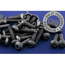 Screw  - M4 round head 15mm lenght